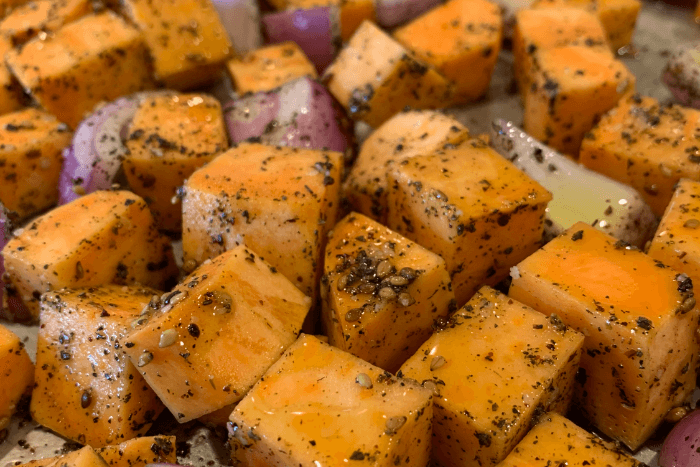 Sweet Potatoes with Za'atar